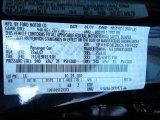 2012 Focus Color Code for Kona Blue Metallic - Color Code: L6