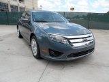 2011 Steel Blue Metallic Ford Fusion SE #51669826