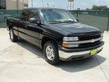2007 Black Chevrolet Silverado 1500 Classic LS Crew Cab #51669834
