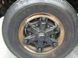 1988 Ford F700 Regular Cab Dump Truck Wheel