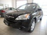 2009 Crystal Black Pearl Honda CR-V EX-L 4WD #51670194