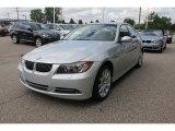 2008 Titanium Silver Metallic BMW 3 Series 335xi Sedan #51669734