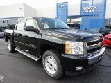 2011 Black Chevrolet Silverado 1500 LT Crew Cab 4x4 #51669738
