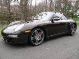 2008 Macadamia Metallic Porsche 911 Carrera 4S Cabriolet #51669568