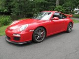 2010 Porsche 911 Guards Red