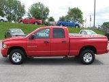 2003 Flame Red Dodge Ram 1500 SLT Quad Cab 4x4 #51669580