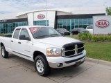 2006 Bright White Dodge Ram 1500 SLT Quad Cab 4x4 #51670069