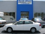 2007 White Chevrolet Malibu LS Sedan #51670270