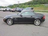 2000 Mercedes-Benz SLK Obsidian Black Metallic