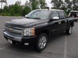 2011 Black Chevrolet Silverado 1500 LT Crew Cab #51670090