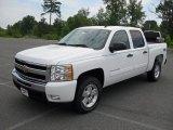2011 Summit White Chevrolet Silverado 1500 LT Crew Cab 4x4 #51670091