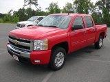 2011 Victory Red Chevrolet Silverado 1500 LT Crew Cab #51670092