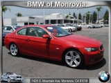 2008 Crimson Red BMW 3 Series 335i Coupe #51723780