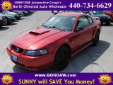 2002 Laser Red Metallic Ford Mustang V6 Coupe #51723455