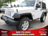 2011 Bright White Jeep Wrangler Sport S 4x4 #51723647