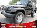 2011 Black Jeep Wrangler Sport S 4x4 #51723648