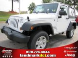 2011 Bright White Jeep Wrangler Sport 4x4 #51723649