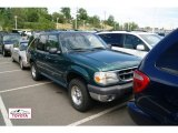 Tropic Green Metallic Ford Explorer in 2000
