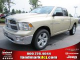 2011 White Gold Dodge Ram 1500 Big Horn Quad Cab #51723667