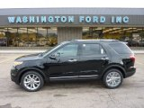 2011 Tuxedo Black Metallic Ford Explorer Limited 4WD #51723836