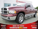 2003 Dark Garnet Red Pearl Dodge Ram 1500 SLT Quad Cab #51723672