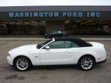 2011 Performance White Ford Mustang GT Premium Convertible #51723843