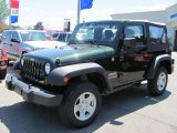 2011 Natural Green Pearl Jeep Wrangler Sport 4x4 #51724170