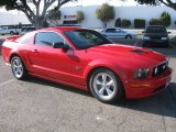 2007 Torch Red Ford Mustang GT Premium Coupe #51723534