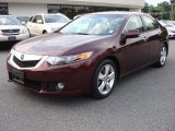 2009 Acura TSX Basque Red Pearl