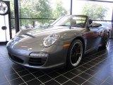 2012 Meteor Grey Metallic Porsche 911 Carrera S Cabriolet #51724035