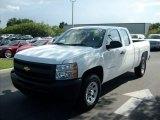 2011 Summit White Chevrolet Silverado 1500 Extended Cab 4x4 #51723577