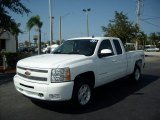 2011 Summit White Chevrolet Silverado 1500 LT Extended Cab 4x4 #51723578