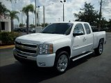 2011 Summit White Chevrolet Silverado 1500 LT Extended Cab #51723579