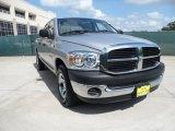 2008 Bright Silver Metallic Dodge Ram 1500 ST Quad Cab #51723750