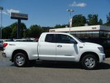 2008 Super White Toyota Tundra Limited Double Cab 4x4 #51723765