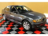 2002 Steel Grey Metallic BMW 3 Series 325i Sedan #51723945