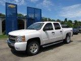 2011 Summit White Chevrolet Silverado 1500 LT Crew Cab 4x4 #51776813