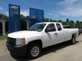 2011 Summit White Chevrolet Silverado 1500 Extended Cab #51776814