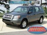 2007 Nimbus Gray Metallic Honda Pilot LX #51777289