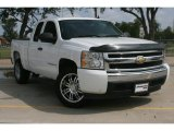2008 Summit White Chevrolet Silverado 1500 LS Extended Cab #51777136
