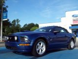 2007 Vista Blue Metallic Ford Mustang GT Premium Convertible #51776846