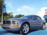 2007 Tungsten Grey Metallic Ford Mustang V6 Premium Convertible #51776847