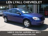 2007 Laser Blue Metallic Chevrolet Cobalt LS Coupe #51776855