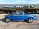 2011 Blue Flame Metallic Ford F150 STX SuperCab 4x4 #51777019