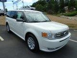 2012 Ford Flex White Suede