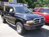 2004 Black Dodge Dakota SXT Club Cab 4x4 #51776725