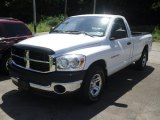 2007 Bright White Dodge Ram 1500 ST Regular Cab #51776728