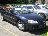 2002 Deep Sapphire Blue Pearl Chrysler Sebring LXi Convertible #51776732