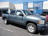 2011 Blue Granite Metallic Chevrolet Silverado 1500 LT Crew Cab 4x4 #51776901