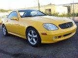 2003 Mercedes-Benz SLK Sunburst Yellow